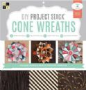 "DCWV Cone Wreath DIY Project Stack 12"" x 12"""